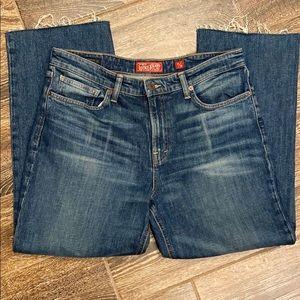 Lucky Brand Cropped Hem Jeans Size 10/30